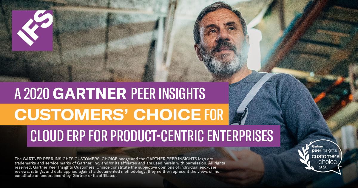 IFS Gartner Customers' Choice