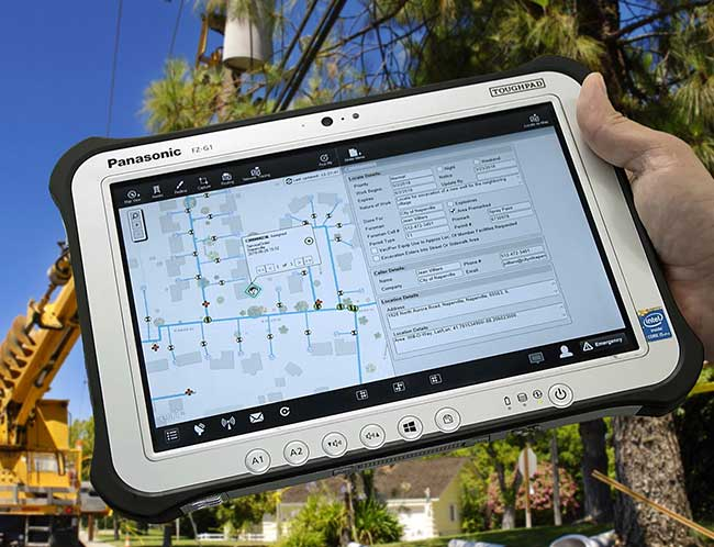 Clevest MWM on Panasonic tablet
